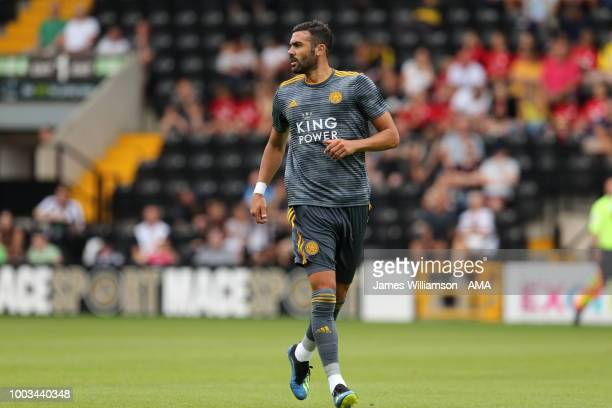 Vincent Iborra of Leicester City during the preseason match between Notts County and Leicester City at Meadow Lane on July 21 2018 in Nottingham...