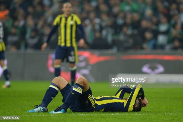 Vincent Janssen of Fenerbahce during the Turkish Super lig match between Bursaspor v Fenerbahce at the Timsah Arena on December 8 2017 in Bursa Turkey