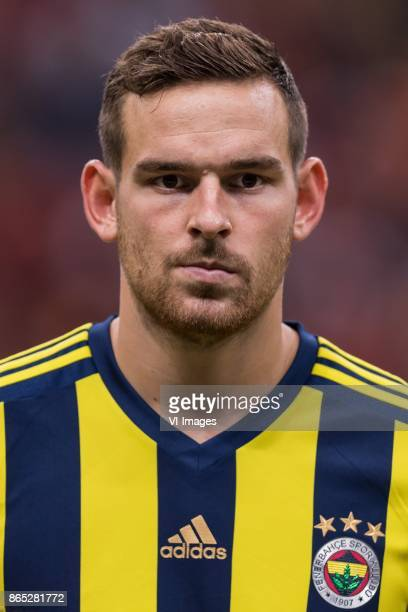 Vincent Janssen of Fenerbahce SK during the Turkish Spor Toto Super Lig football match between Galatasaray SK and Fenerbahce AS on October 22 2017 at...