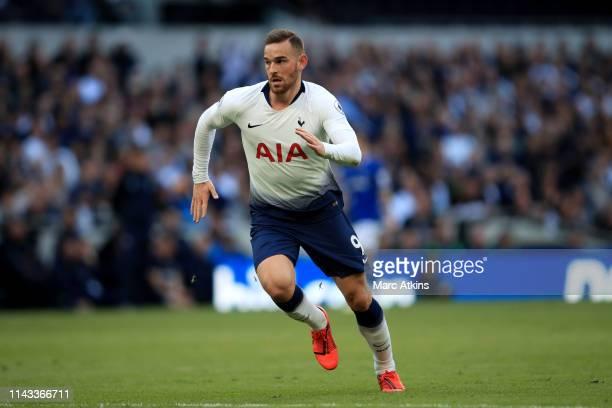 Vincent Janssen of Tottenham Hotspur during the Premier League match between Tottenham Hotspur and Everton FC at Tottenham Hotspur Stadium on May 12,...