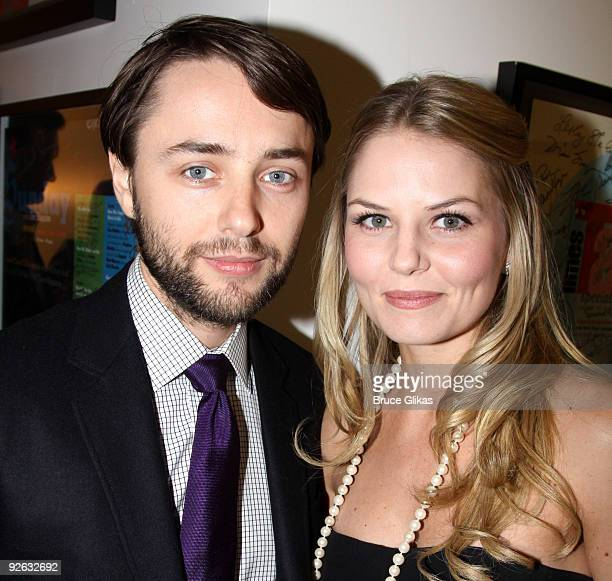 Vincent Kartheiser and Jennifer Morrison pose at the 25th Annual Artios Awards at The Times Center on November 2 2009 in New York City