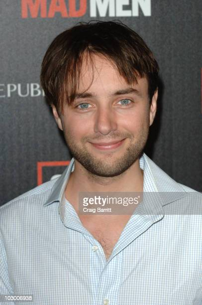 Vincent Kartheiser arrives at AMC's 'Mad Men' Season 4 Premiere on July 20 2010 in Los Angeles California