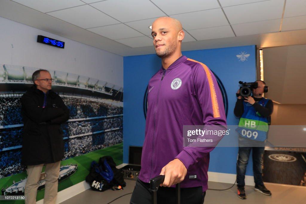 GBR: Manchester City v TSG 1899 Hoffenheim - UEFA Champions League Group F