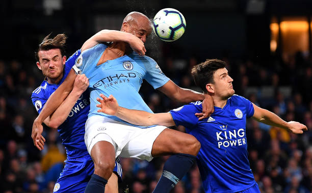 GBR: Manchester City v Leicester City - Premier League
