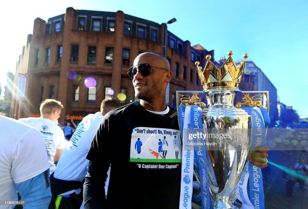 Manchester City Teams Celebration Parade : News Photo