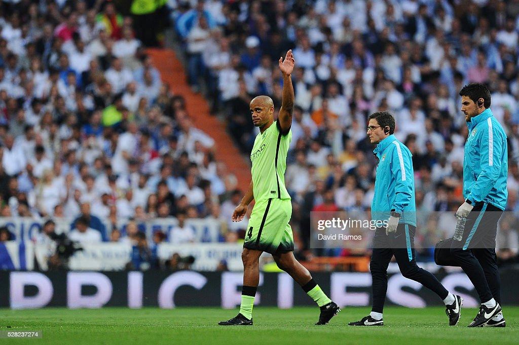 Real Madrid v Manchester City FC - UEFA Champions League Semi Final: Second Leg : News Photo