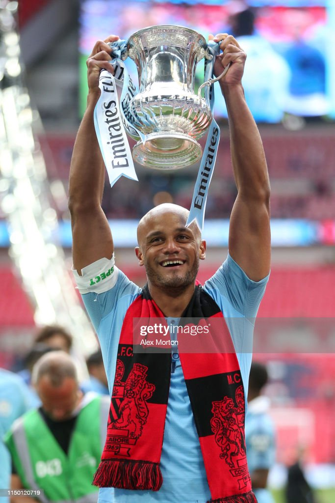 GBR: IN FOCUS: Vincent Kompany Of Manchester City