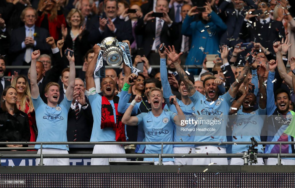 Manchester City v Watford - FA Cup Final : News Photo