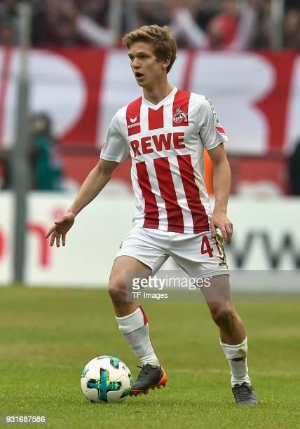 Vincent Koziello of Koeln controls the ball during the Bundesliga match between 1 FC Koeln and VfB Stuttgart at RheinEnergieStadion on March 4 2018...