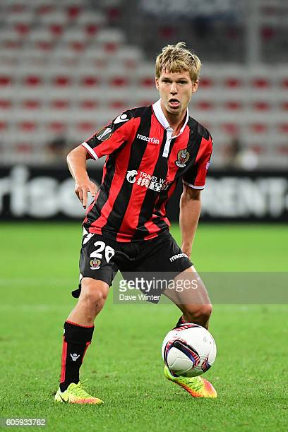 Vincent Koziello of Nice during the Europa League match between Nice and Schalke 04 at Allianz Riviera Stadium on September 15 2016 in Nice France