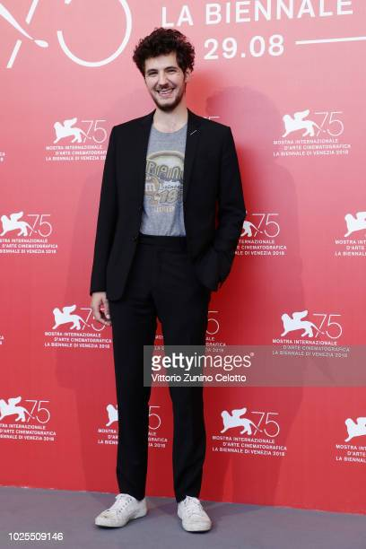 Vincent Lacoste attends the 'Amanda' photocall during the 75th Venice Film Festival at Sala Casino on August 31 2018 in Venice Italy