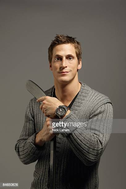 Vincent Lecavalier poses for a portrait during the 2009 NHL Live Western/Eastern Conference AllStars Media Availability at the Queen Elizabeth...