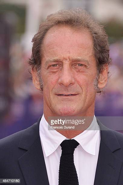 Vincent Lindon arrives at the opening ceremony of 40th Deauville American Film Festival on September 5 2014 in Deauville France