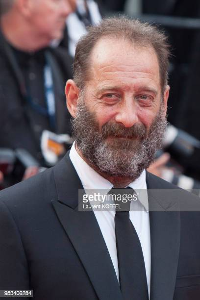 Vincent Lindon attends the 'Cafe Society' premiere and the Opening Night Gala during the 69th annual Cannes Film Festival at the Palais des Festivals...
