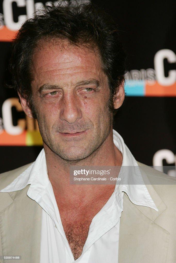 Vincent Lindon attends the Paris Film Festival premiere of the movie 'L'Avion.'