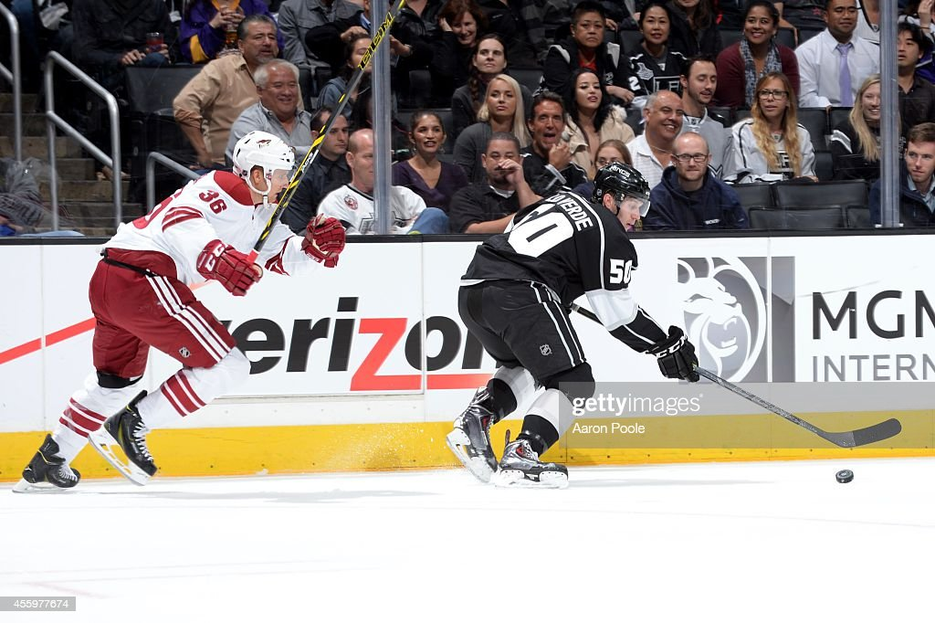 Arizona Coyotes v Los Angeles Kings