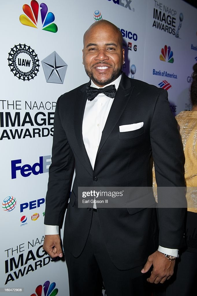 Vincent M. Ward attends the 44th NAACP Image Awards Pre-Gala at Vibiana on January 31, 2013 in Los Angeles, California.