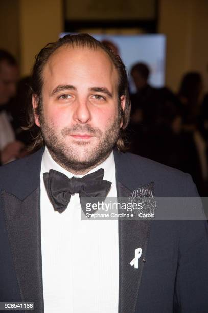 Vincent Macaigne arrives at the Cesar Film Awards 2018 at Salle Pleyel on March 2 2018 in Paris France