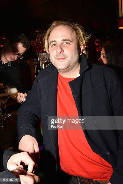 Vincent Macaigne attends 'Les Lumieres 2016' After Party at the Buddha Bar on February 8 2016 in Paris France