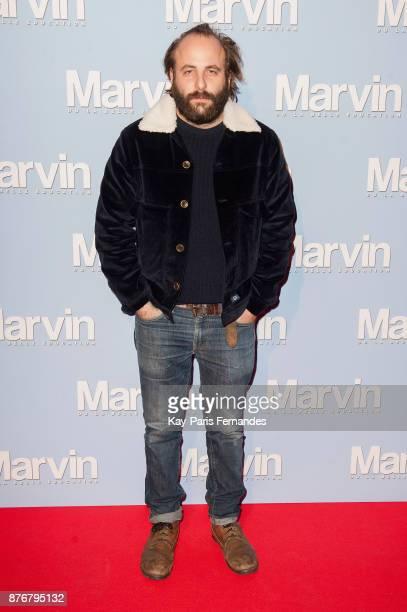 Vincent Macaigne attends the 'Marvin Ou La Belle Education' Paris Premiere at Le Louxor cinema on November 20 2017 in Paris France