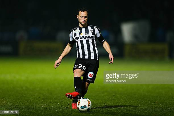 Vincent Manceau of Angers during the French Ligue 1 match between Angers and Nantes on December 16 2016 in Angers France