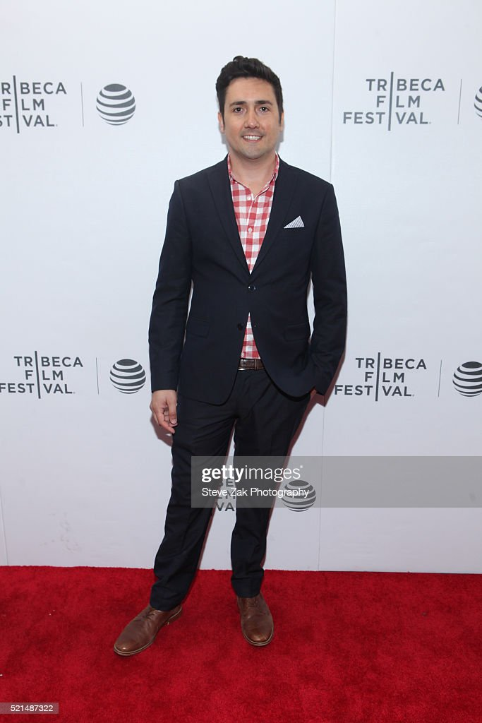Vincent Masciale attends 'Fear, Inc.' premiere during 2016 Tribeca Film Festival at Regal Battery Park 11 on April 15, 2016 in New York City.
