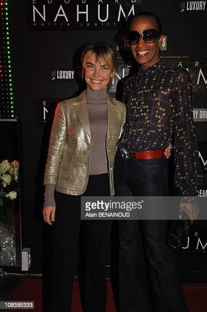 Vincent Mc Doom and Nathalie Vincent in Paris France on November 28 2008