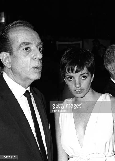 Vincent Minnelli and Liza Minnelli during Opening Night of The Electric Circus Club June 27 1967 at The Electric Circus Club in New York City New...