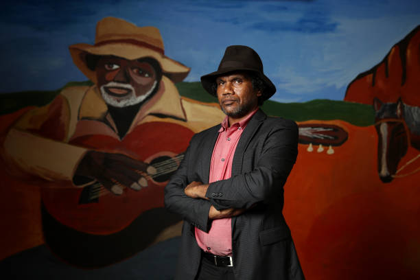AUS: MCA Unveils Vincent Namatjira Foyer Wall Commission