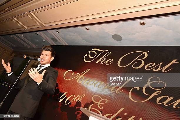 Vincent Niclo attends 'The Best Award Gala 40th Edition' at Four Seasons George V Hotel on January 27 2017 in Paris France