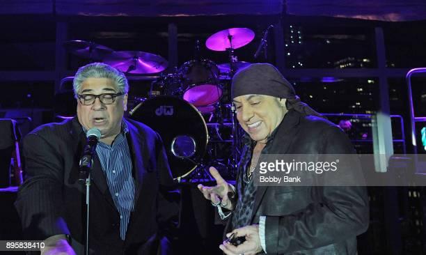 Vincent Pastore and Steven Van Zandt host the 3rd Annual Little Steven's Policeman's Ball at Mandarin Oriental New York on December 19 2017 in New...