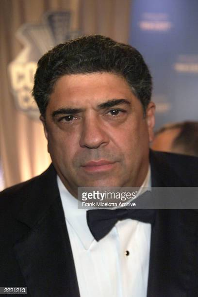 Vincent Pastore at the Roast held at the New York Friars Club in honor of Rob Reiner. The Roast was presented by Comedy Central.