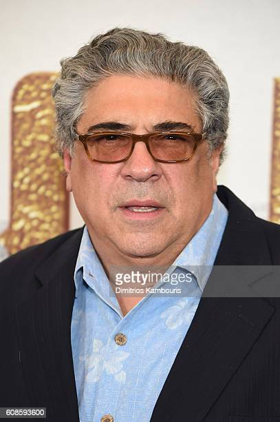 Vincent Pastore attends The Magnificent Seven premiere at Museum of Modern Art on September 19 2016 in New York City