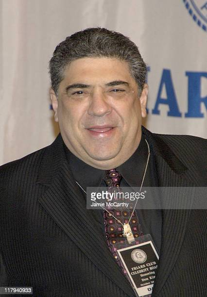 Vincent Pastore during The Friars Club Roast of Don King at The New York Hilton in New York City, New York, United States.