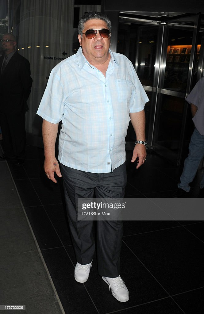 Vincent Pastore is sighted on July 16, 2013 in New York City.