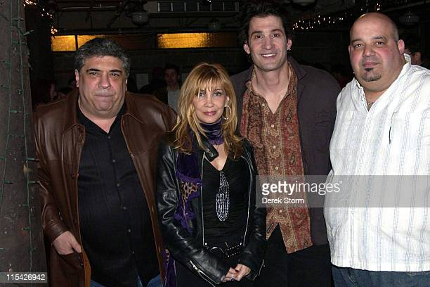 Vincent Pastore Maureen Van Zandt Robert Funaro and Anthony Ribustello