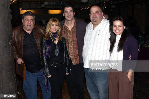 Vincent Pastore Maureen Van Zandt Robert Funaro Anthony Ribustello and Alexis Lacono