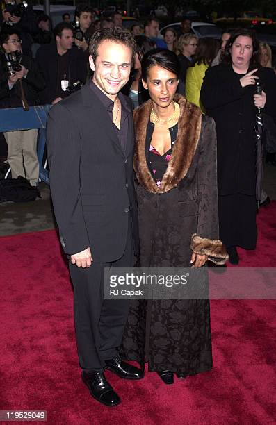 Vincent Perez and wife Korine during 'I Dreamed of Africa' New York City Premiere at Sony Theatres Lincoln Center in New York City New York United...