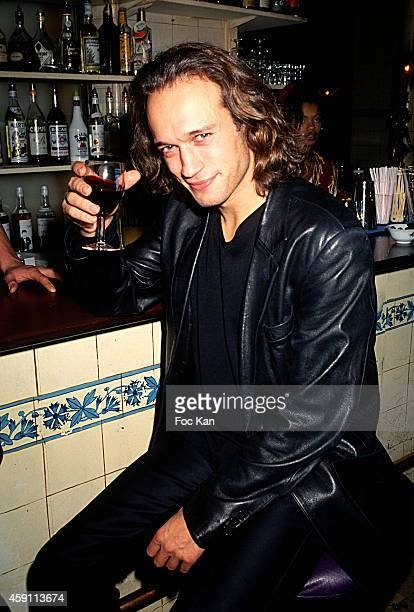 Vincent Perez attends a fashion week Party at Les Bains Douches in the 1990s in Paris France