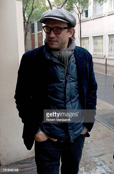 Vincent Perez attends a photocall for his latest film 'Bruc el Desafio' at the Cine Verdi on December 21 2010 in Barcelona Spain