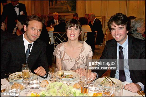 Vincent Perez Cecile Cassel and Antoine Arnault at Premiere Of Film 'Faubourg 36' At Ugc Normandie In Benefit Of Claude Pompidou Foundation