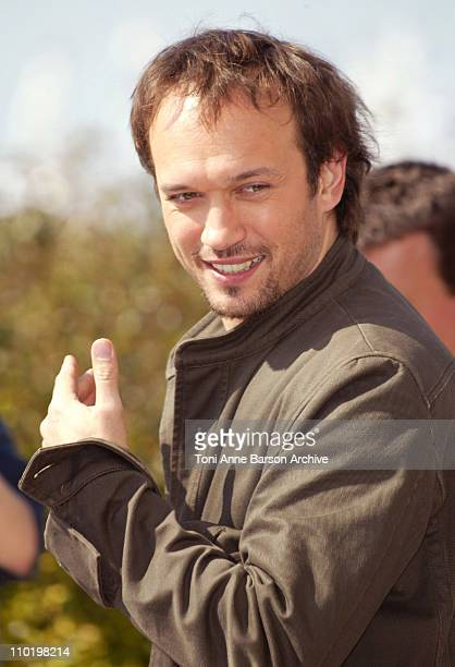 Vincent Perez during 2004 Cannes Film Festival 'Welcome To Switzerland' Photocall at Palais Du Festival in Cannes France