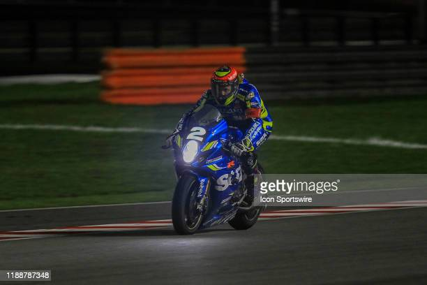Vincent Phiippe of Suzuki Endurance Racing Team in action during the FIM EWC - The Sepang 8 hours Endurance Race on December 14 held at Sepang...