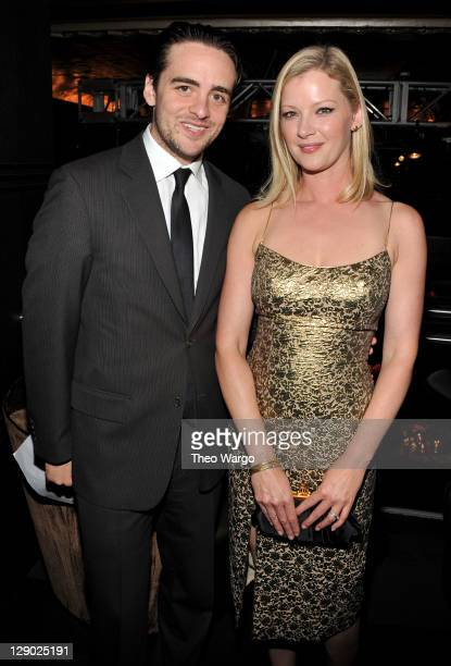 Vincent Piazza and Gretchen Mol attend Conde Nast Traveler Readers' Choice Awards at The Edison Ballroom on October 10 2011 in New York City