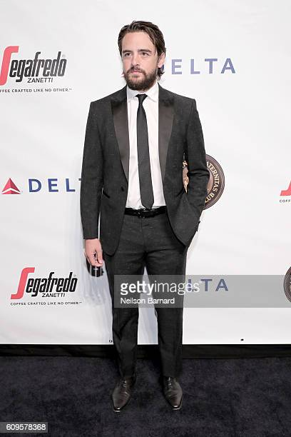 Vincent Piazza attends the Friars Club Honors Martin Scorsese With Entertainment Icon Award at Cipriani Wall Street on September 21 2016 in New York...