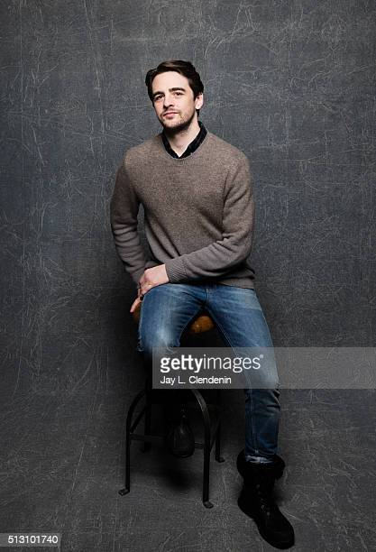 Vincent Piazza of 'Intervention' poses for a portrait at the 2016 Sundance Film Festival on January 26 2016 in Park City Utah CREDIT MUST READ Jay L...