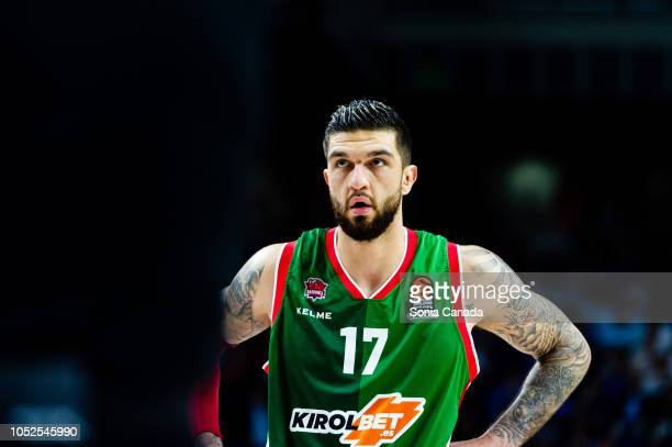 Vincent Poirier #17 center of Kirolbet Baskonia during the 2018/2019 Turkish Airlines Euroleague Regular Season Round 27 game between Real Madrid and...