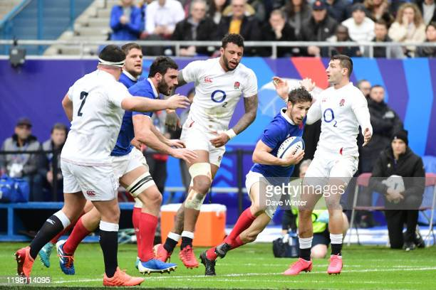 Vincent RATTEZ of France during the Six Nations match Tournament between France and England at Stade de France on February 2 2020 in Paris France