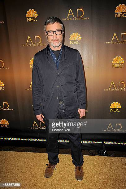 Vincent Regan attends 'AD The Bible Continues' New York Premiere Reception at The Highline Hotel on March 31 2015 in New York City