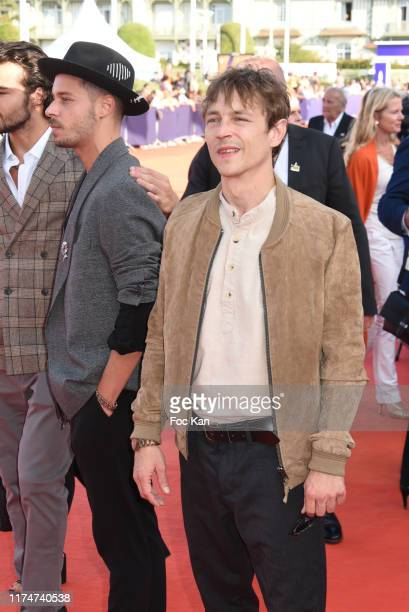 Vincent Rottiers attends the Award Ceremony during the 45th Deauville American Film Festival on September 14 2019 in Deauville France